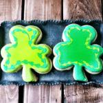 St. Patty's Day Shamrock Sugar Cookies