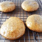 Maple Walnut Butter Cookies