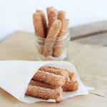 Churros - Cookie Dough and Oven Mitt