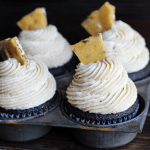 Chocolate Cupcakes with Maple Pecan Buttercream
