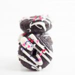 Dark Chocolate Baked Donuts