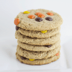 Double Peanut  Butter Oatmeal Cookies