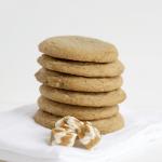 Caramel Filled Brown Sugar Cookies