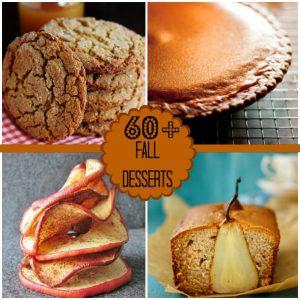 60+ Fall Desserts Roundup!