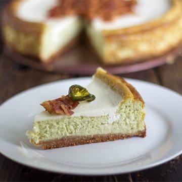 Jalapeno Popper Cheesecake