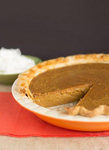 Peanut Butter Pumpkin Pie