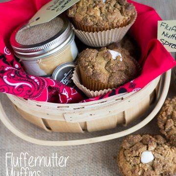 Fluffernutter Muffins and Spread