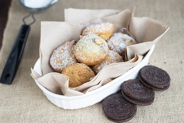 how to make fried oreos with flour
