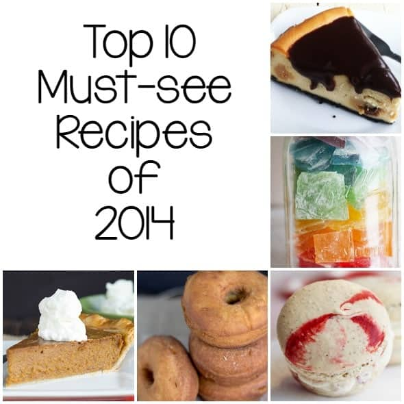 Top 10 Must-see Recipes of 2014