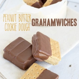 Peanut Butter Cookie Dough Grahamwiches