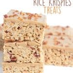 Maple Bacon Rice Krispies Treats