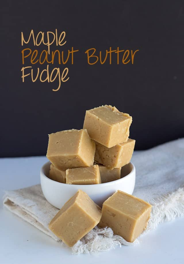Maple Peanut Butter Fudge