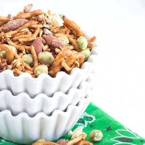 Wasabi and Soy Sauce Trail Mix