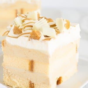 No Bake White Chocolate Peanut Butter Dessert