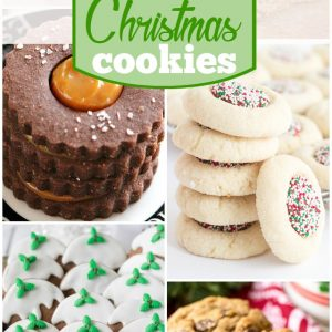 25 Christmas Cookies in July
