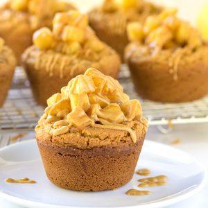 Apple Pie Peanut Butter Cookie Cups