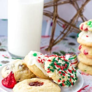 Five Christmas Cookies One Dough