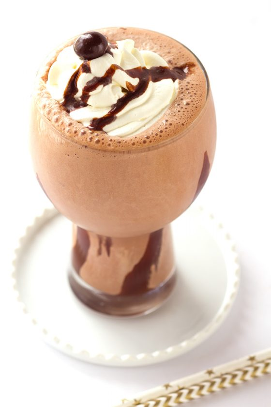 Mocha Milkshake - blend together some cooled strong coffee, chocolate ice cream, and chocolate syrup to make the perfect shake!