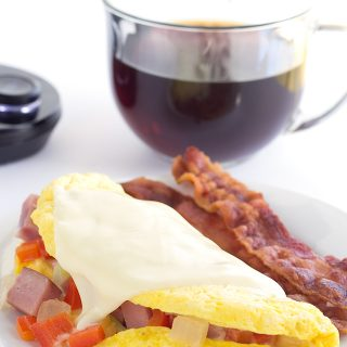 Microwave Western Omelet