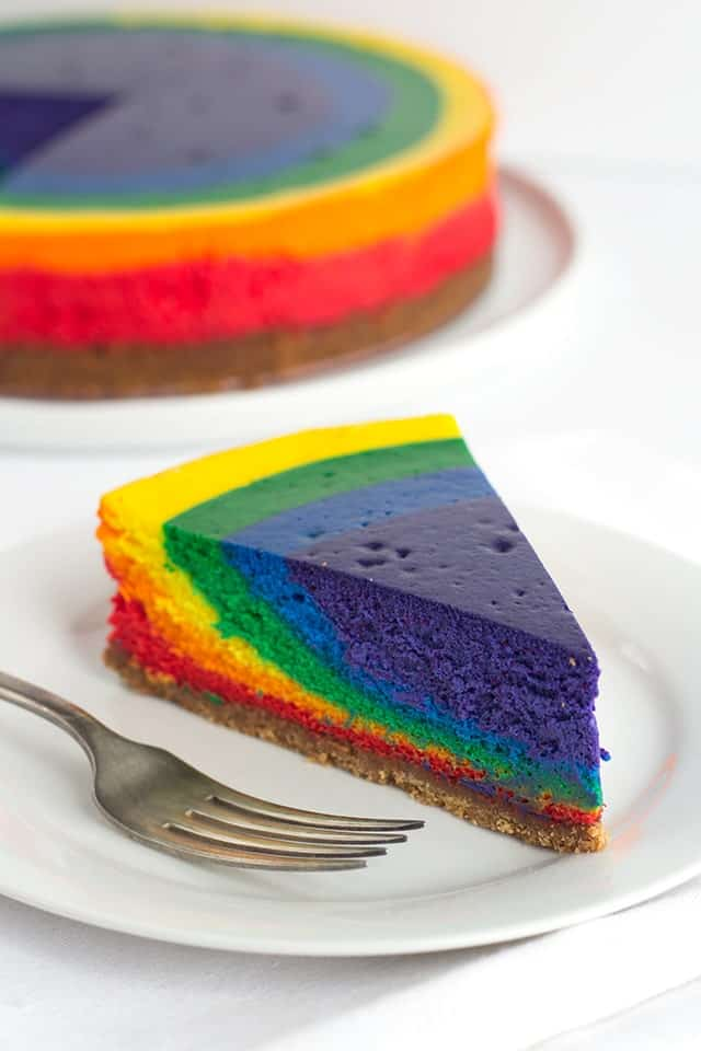 Rainbow Cheesecake St Patrick S Day Dessert Cookie