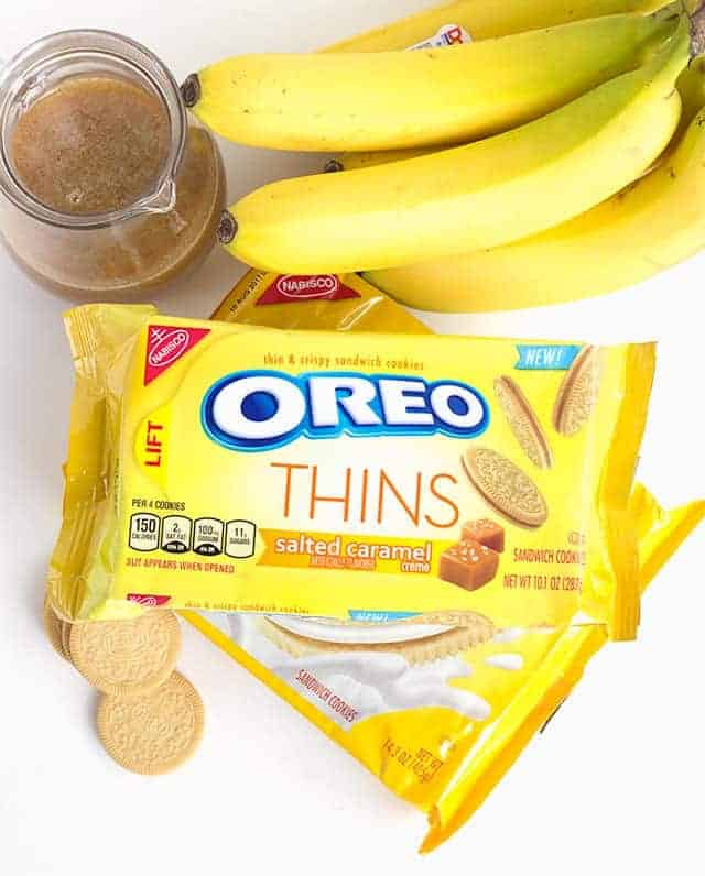 My Oreo Creation - Bananas Foster