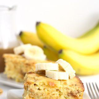 Bananas Foster Pancake Casserole