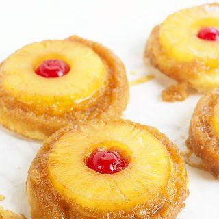 Pineapple Upside Down Sugar Cookies