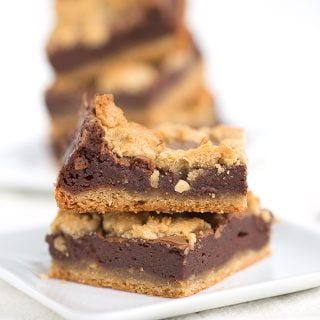 Chocolate Peanut Butter Cheesecake Cookie Bars