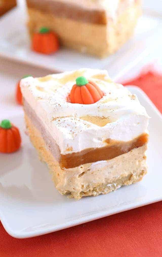 Pumpkin Cookie Butter Layer Cake